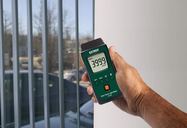 Extech SP505 Taschen- Solarmessgerät Leistung in Watt pro m² oder BTU