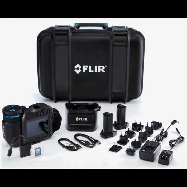 FLIR T860 Wärmebildkamera 30Hz, MSX, 640x480 Pixel, 24° + 14° + 42° Objektive