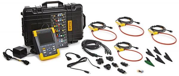 Miete Fluke 437 II Netzanalysator und Power Logger (400 Hz) 437-II