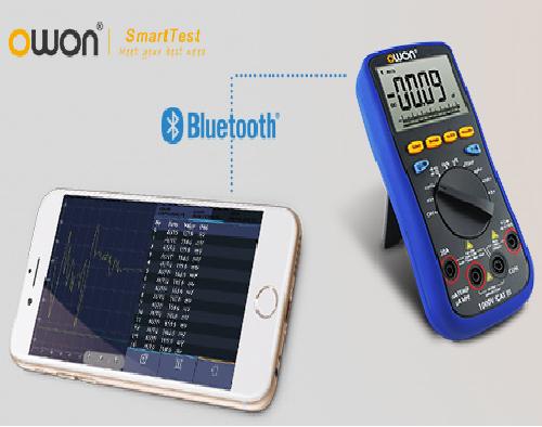 Laser Entfernungsmesser Datenlogger : Owon b t trms multimeter ios android datenlogger