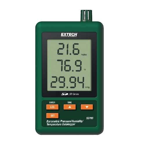 Extech SD700 SD-700 Luftdruck / Feuchte und Temperatur Datenlogger