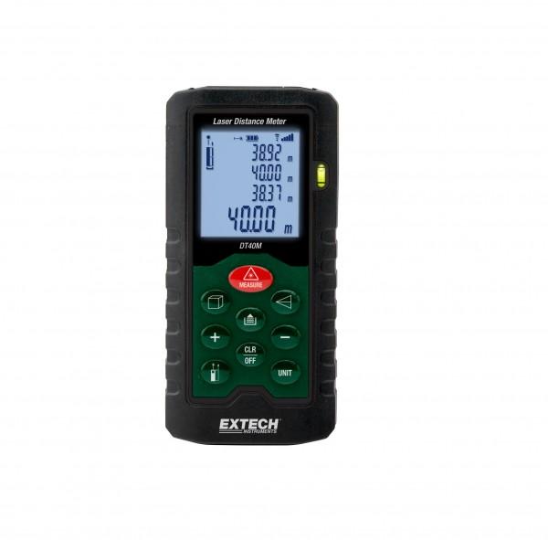 Extech DT40M Laser-Entfernungsmesser Messgerät 40m