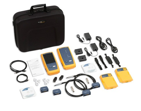 Miete Fluke DSX-5000 Netzwerktester Cable Analyzer DSX5000