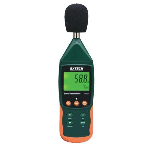 Extech SDL600 Datenlogger Schallpegel Messgerät mit SD Karte Lärmpegel