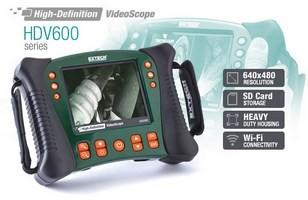 1 Extech HDV620 Reihe Endoskop 640x480 Pixel Hochauflösende Videos...