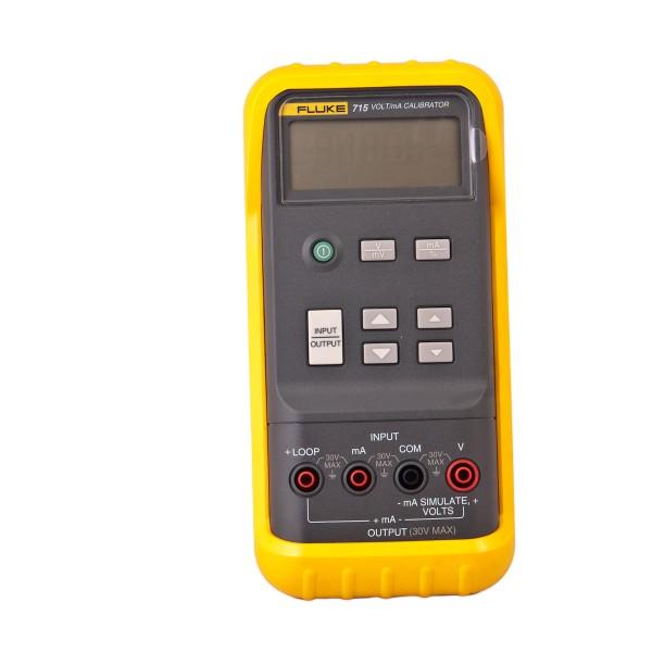 Fluke 715 Volt mA Kalibrator Prozesskalibrator 0 → 24 mA, 0 → 20V