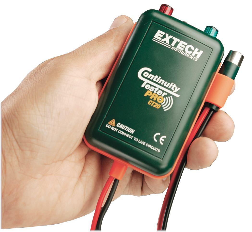 extech ct20 durchgangsprüfer pro kabelprüfer flir   leitungssucher