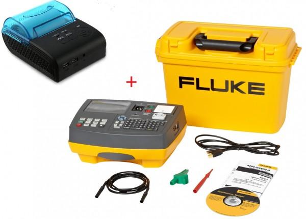 Fluke 6500-2 + Drucker Gerätetester DIN VDE 0701/0702 DGUV V3