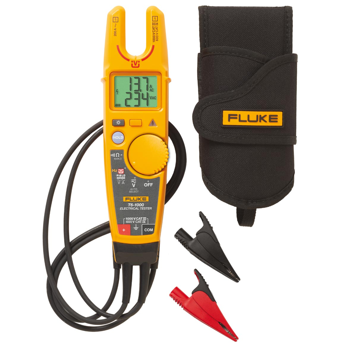 fluke t6-1000 kit elektro-tester mit fieldsense™ rund