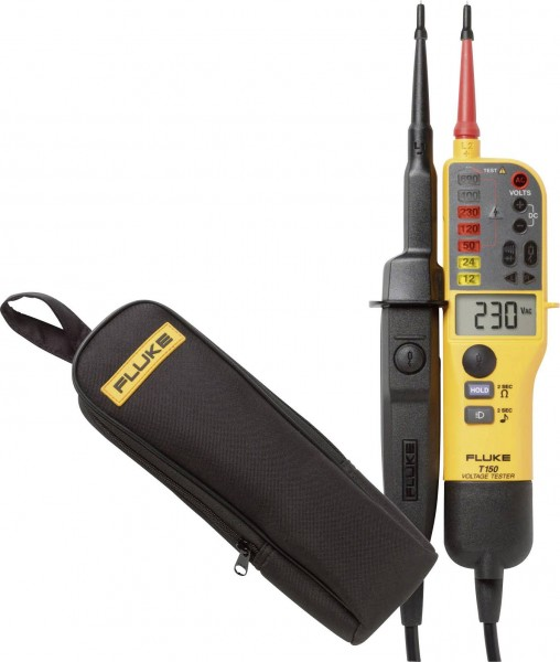 Fluke T150VDE/C150 Aktionsset Autom. Spannungsprüfer + Tasche T150 + C150