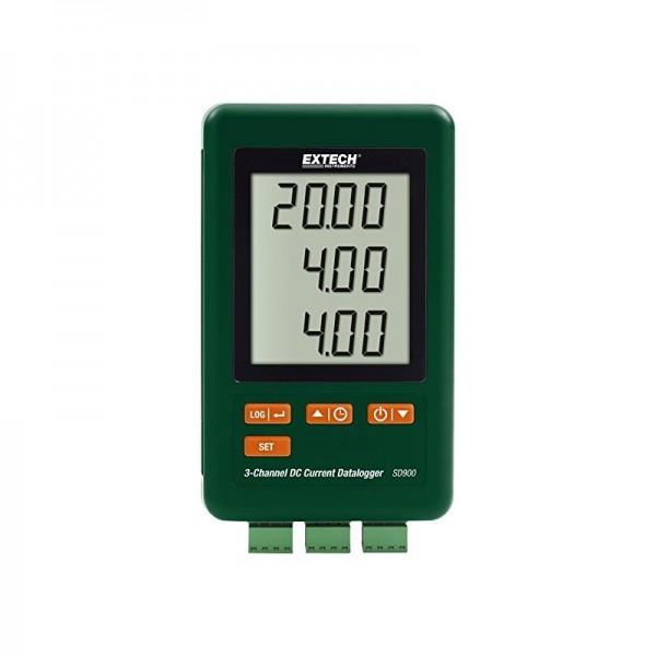 Extech SD900 Strom Datenlogger 0.01 bis 20mA 3 Kanal